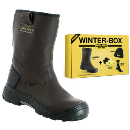 Safety Jogger Boreas Laars Gevoerd S3  Winter box