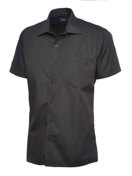 Uneek Heren Poplin Shirt UC710