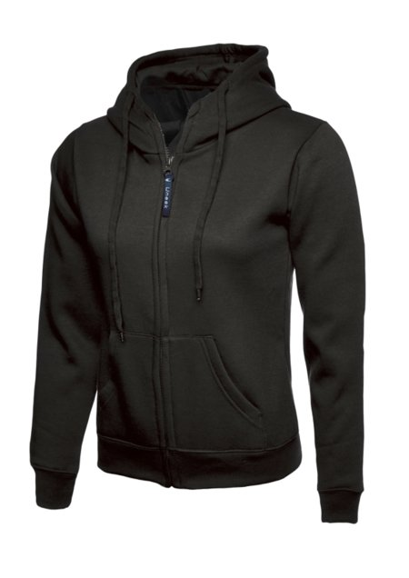 Uneek Dames Classic Hooded Sweatshirt UC505