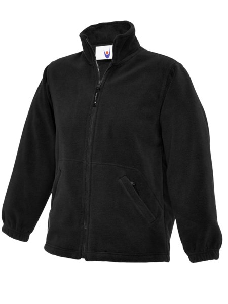 Uneek Micro Fleece Jas Met Rits UC603 Kids